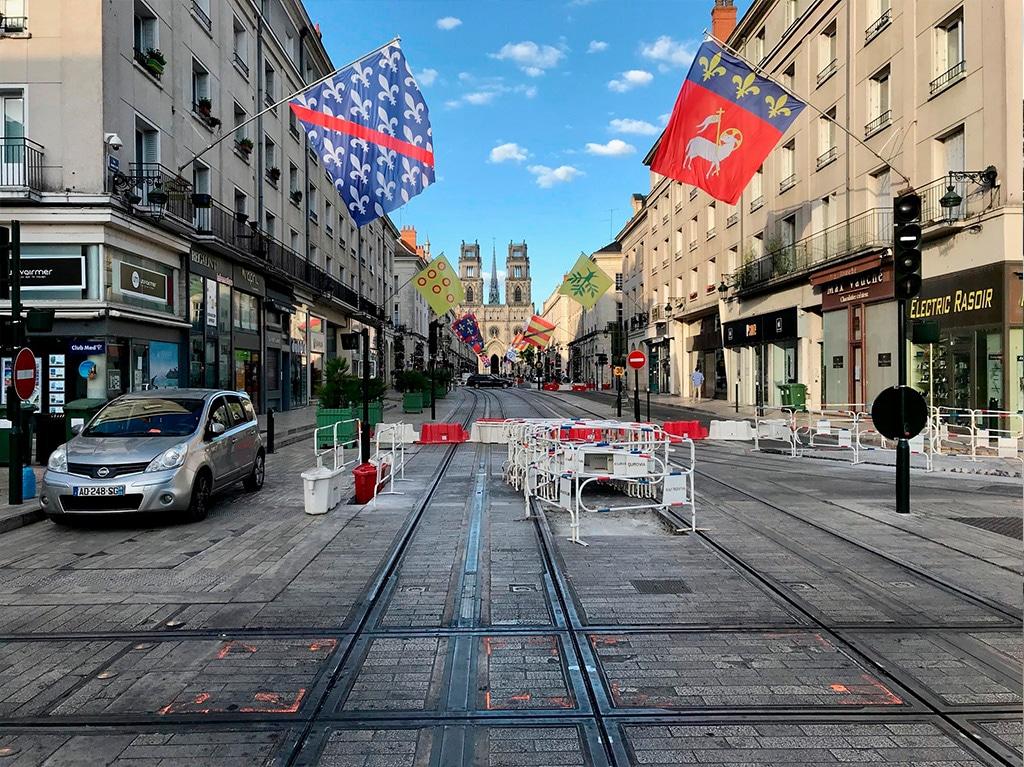 Coupure de la ligne B du tramway d'Orléans Métropole entre le 06 et le 14 juillet 2020 !